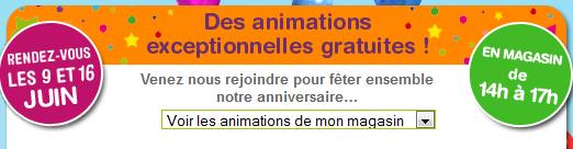La grande récré fête ses 35 ans: animations gratuites en magasin bon plan gratuit enfant grande recre