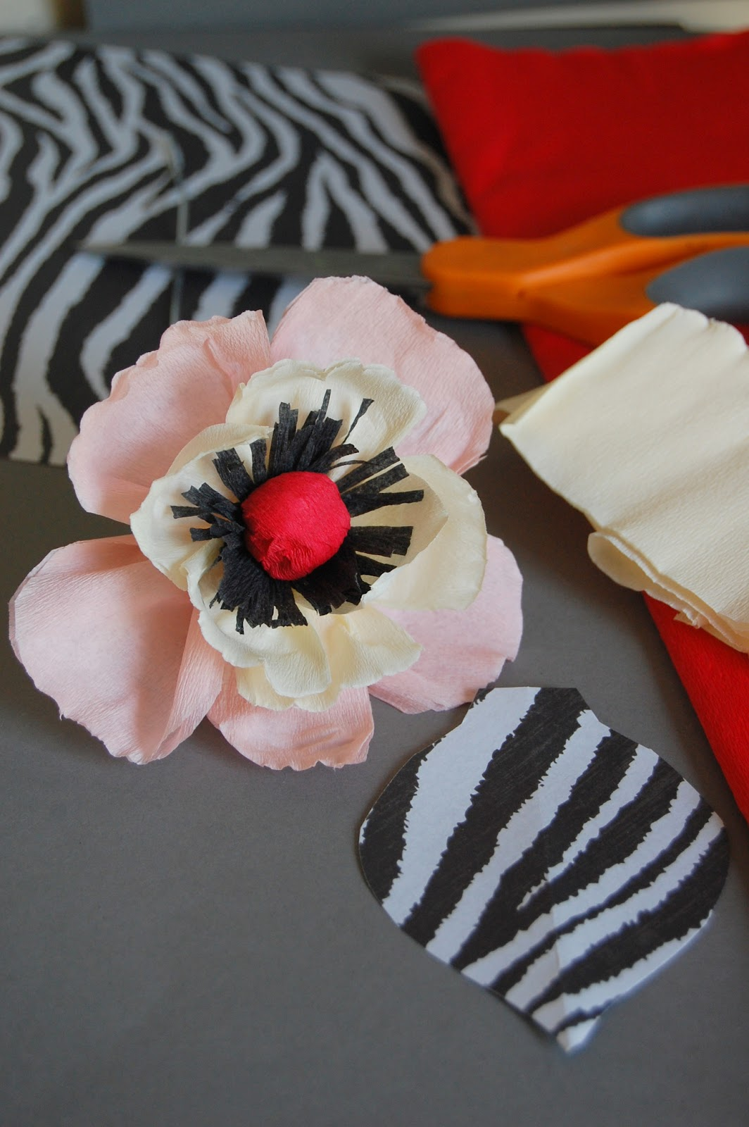 Tutorial Whimsical Paper Flowers Poppy How To Make Diy Handmade