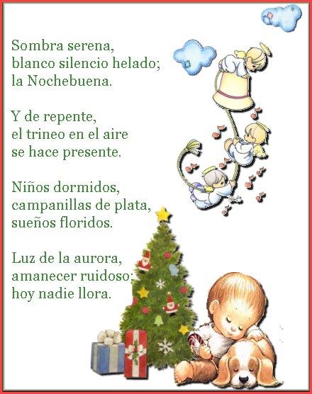 Tia Carito Celebrando La Navidad Poemas De Navidad Lenguaje