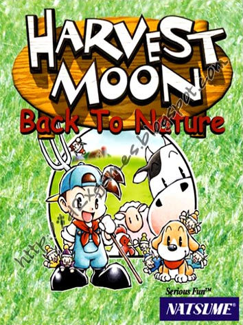 Free Download Games - Harvest Moon Back To Nature