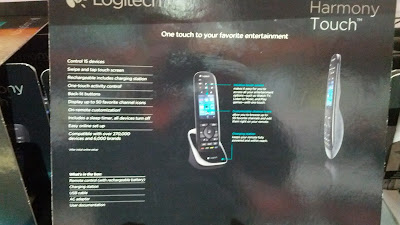The Logitech Harmony Touch Advanced Universal Remote can be used on multiple devices