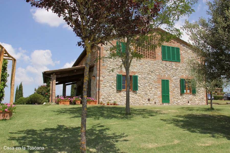 Arquitectura de casas casas bonitas en la campi a de italia - Casa rural en la toscana ...