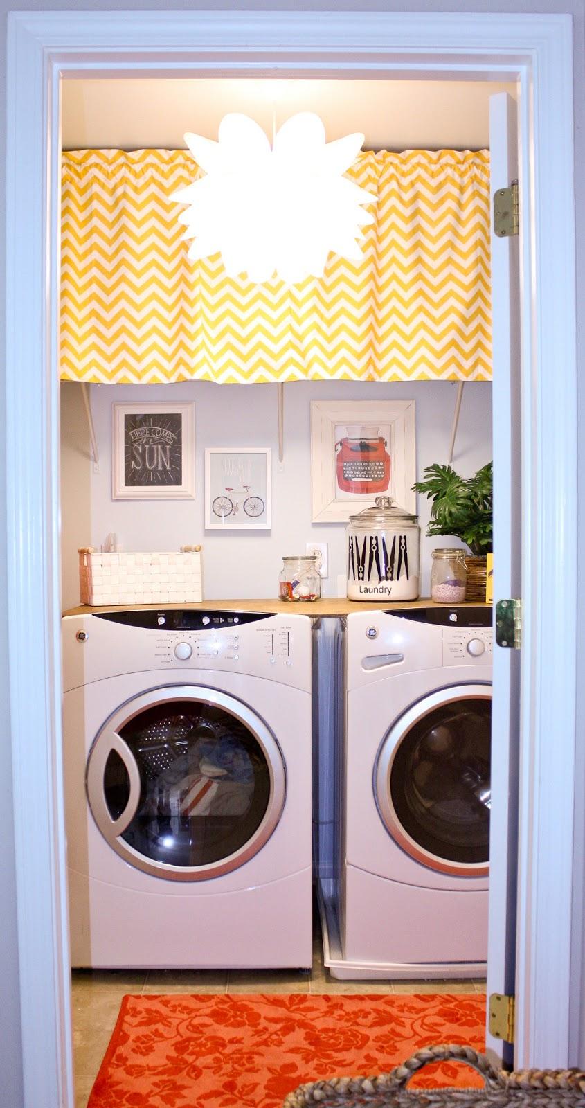 Cute Laundry Room Decor Ideas hoot designs - laundry room makeover - shanty 2 chic