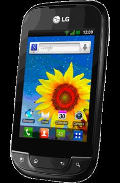 LG Optimus Net Mobile Phone