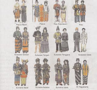 Pakaian Tradisional Daerah Indonesia