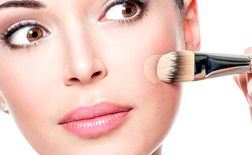 maquillaje libre de aceite