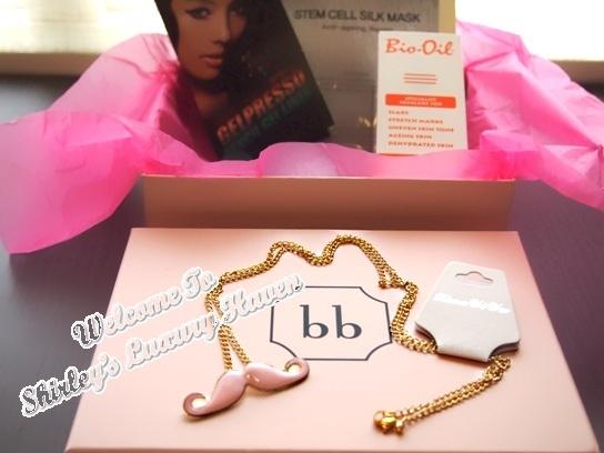 bellabox november surprise pendant
