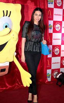 karisma kapoor launches spongebob squarepants happy meal cute stills