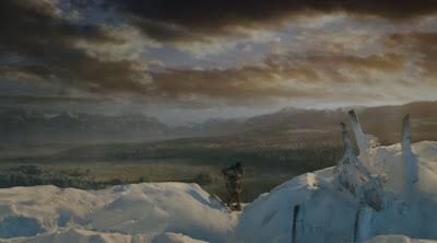 Jon e Ygritte en la cima del muro - Juego de Tronos en los siete reinos