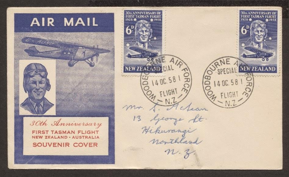 Virtual New Zealand Stamps 1958 Anniversaries
