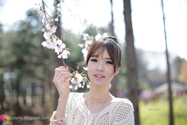 1 Choi Byeol Ha - Outdoor -Very cute asian girl - girlcute4u.blogspot.com