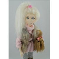 Текстильная кукла, авторская кукла, коллекционная кукла.