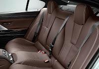 BMW M6 Gran Coupé (2013) Rear Seats