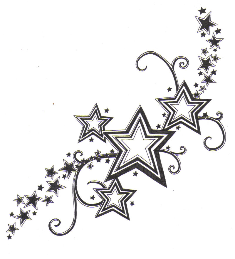 Star Pattern by ~crazyeyedbuffalo | Tattoopia