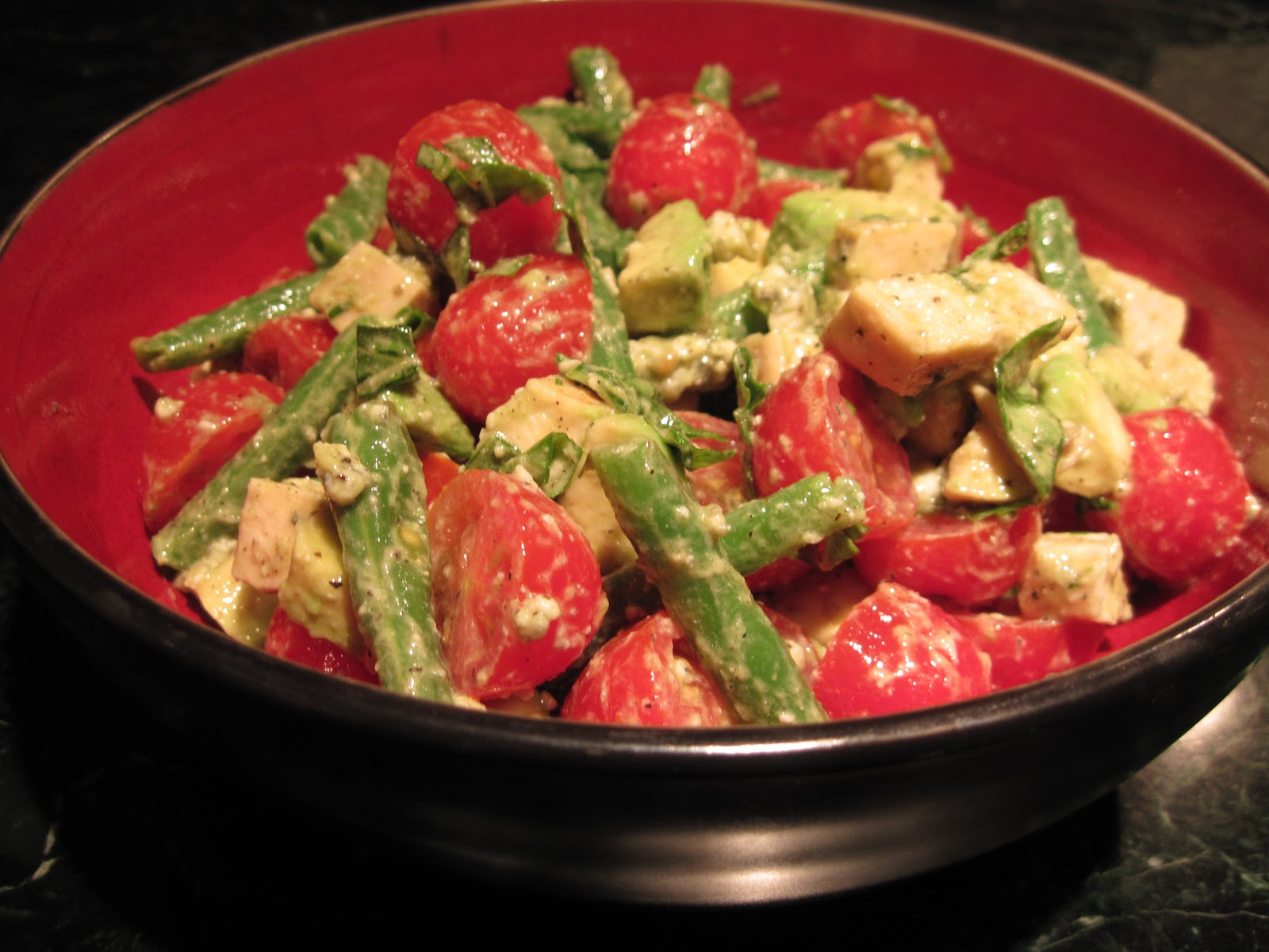 Tomato and green bean salad: a recipe | Yankee Kitchen Ninja