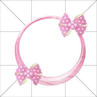 Cajita-invitación en tonos rosa