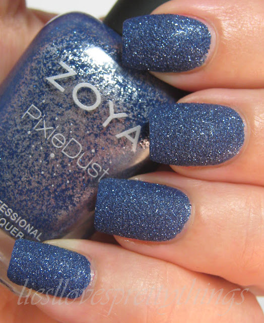 Zoya PixieDust Sunshine swatch and review