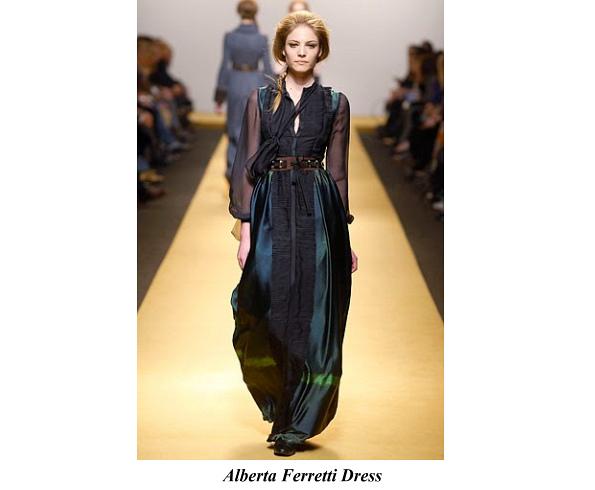 Princess Mette-Marit's Alberta Ferretti Dress