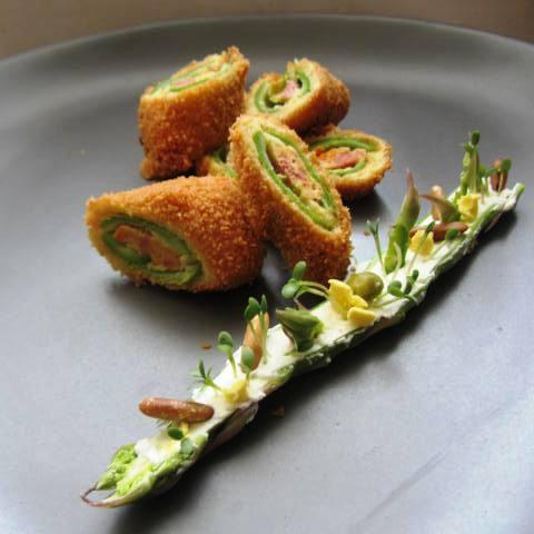 L'asparago ripieno di cima