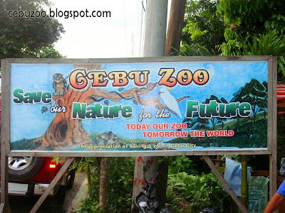 Cebu Zoo Gate