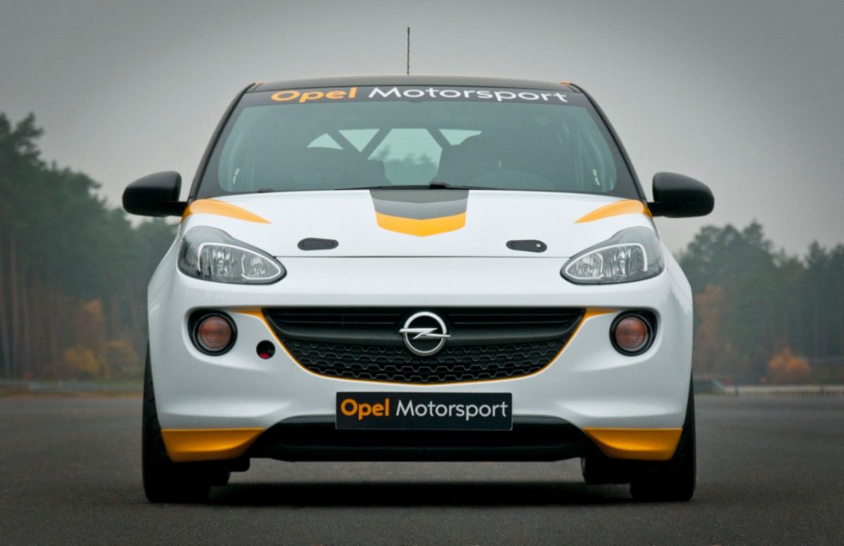 2013 Opel Adam Rally Cup version - front view