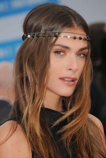 hairstyle Elisa Sednaoui