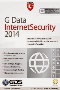 G Data Internet Security 2014 + Serial