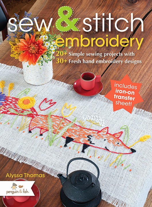 Quilt Dad Sew Stich Embroidery Blog Tour Book Giveaway