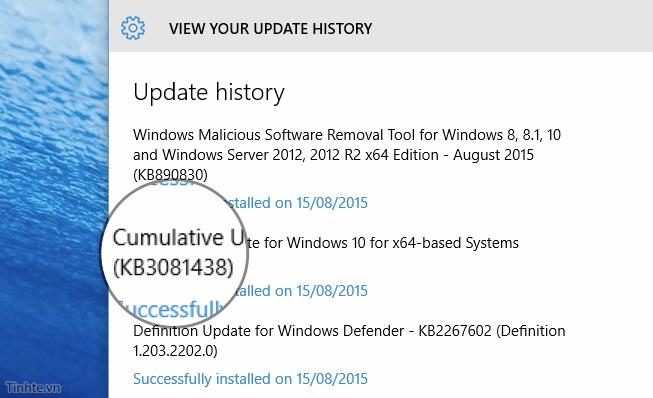 Sửa lỗi Windows Store trên Windows 10