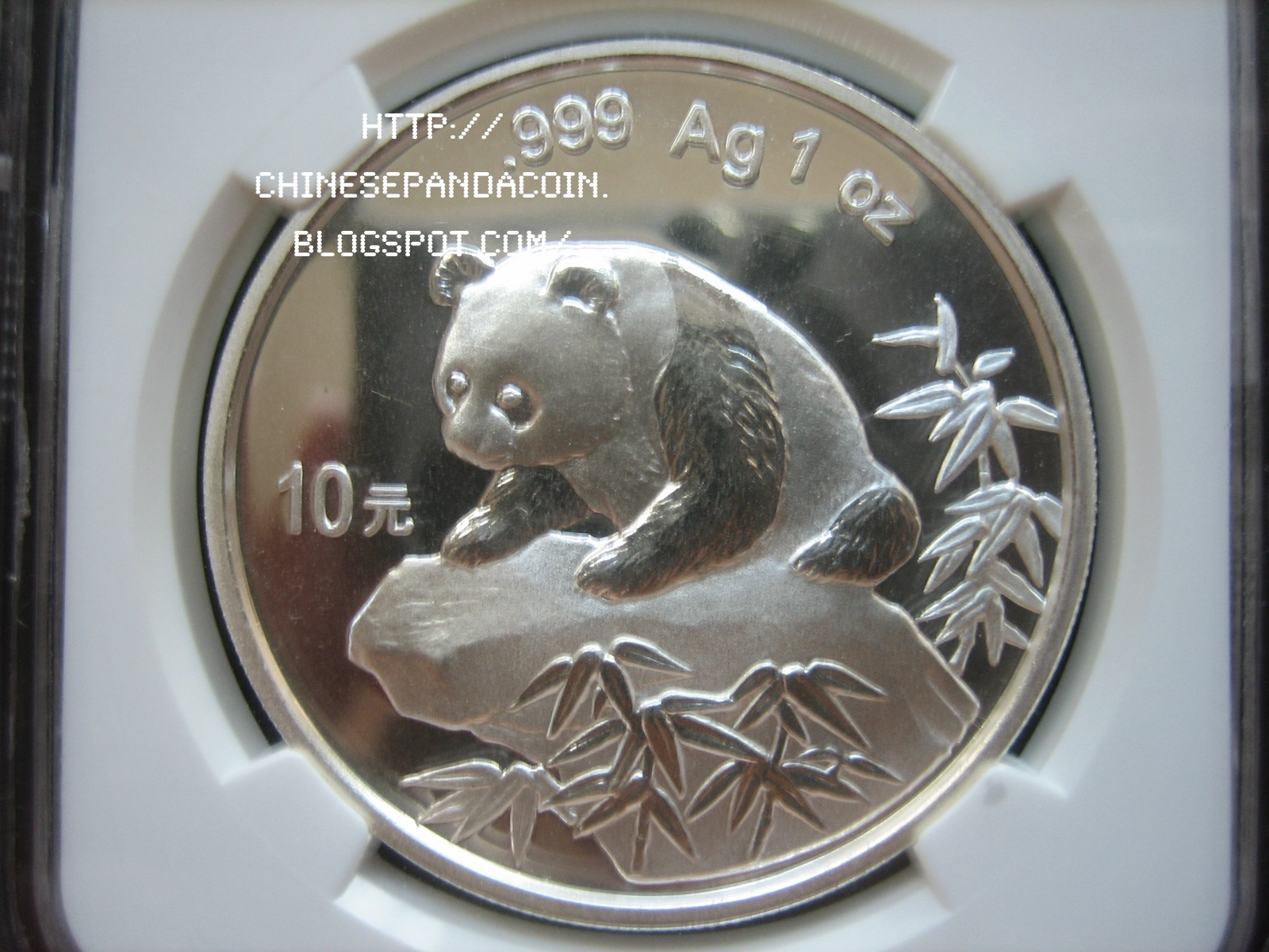 Chinese Panda Coin 1999 Chinese Silver Panda