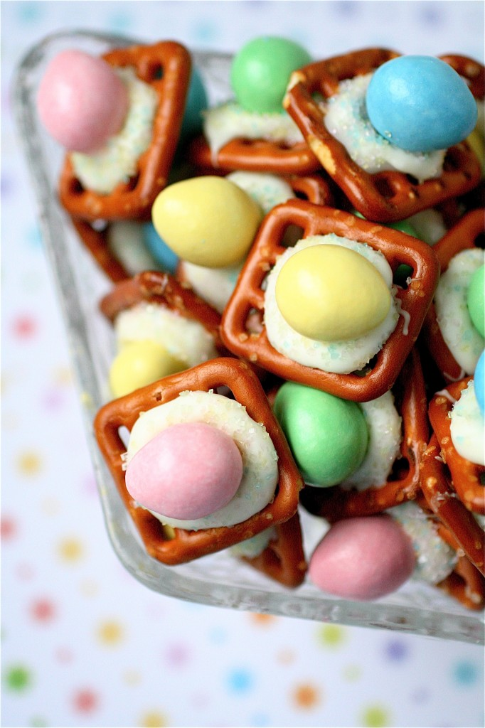 Easter peanut butter buttons fabulous food recipes for Quick and easy easter treats recipes