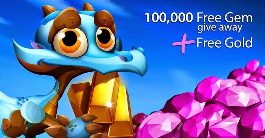 100,000 Gemas de Dragon City