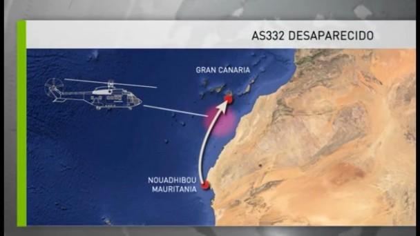 Militares del helicóptero del SAR siniestrado en Canarias, rescatados con vida