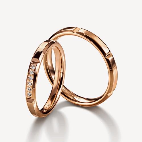 チョコレート FURRER JACOT フラージャコー 名古屋 栄 結婚指輪 ゴールド 鍛造