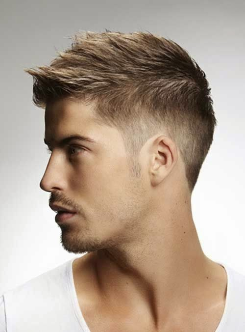 short hairstyle for men 2015