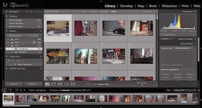 آخر التطورات الخاصة بلايت روم Lightroom CC بالفيديو