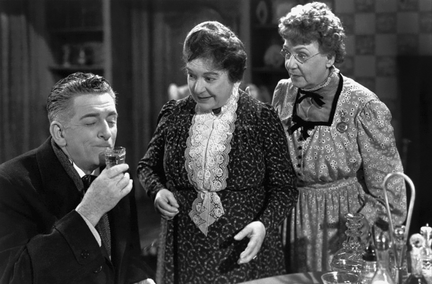 Image result for arsenic and old lace and wine