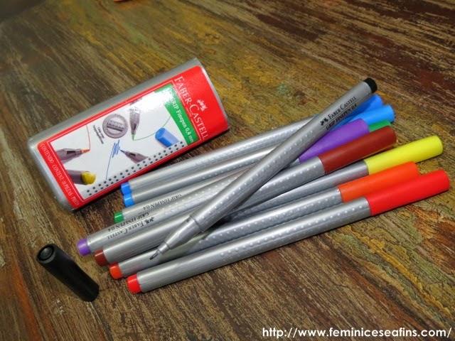 Canetas Grip Fine Pen