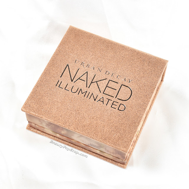 Urban Decay Naked Illuminated Lit Holiday 2015 Swatch & Review