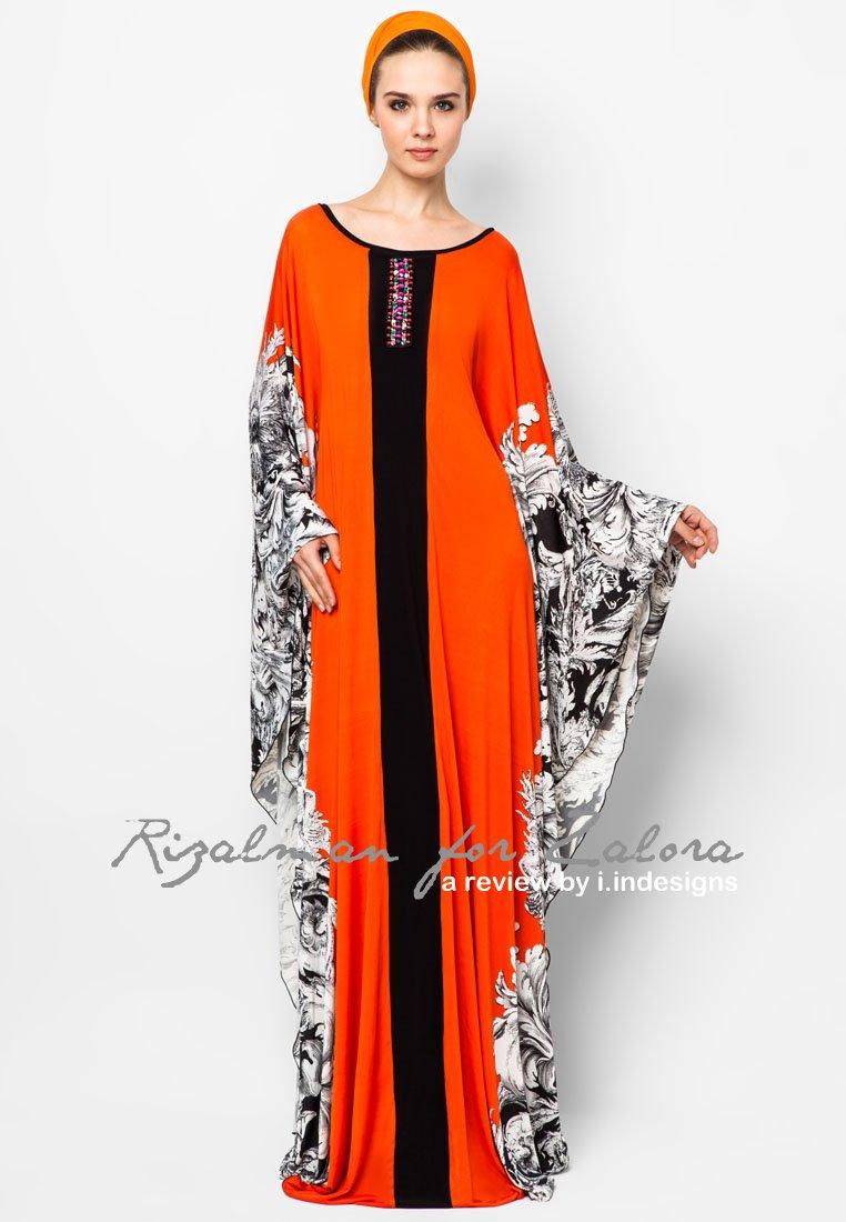 Fesyen Baju Kaftan Blogirsah Design Raya
