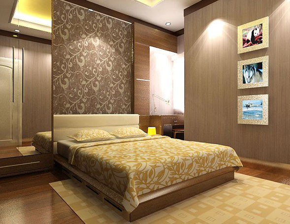 Kamar Tidur Modern