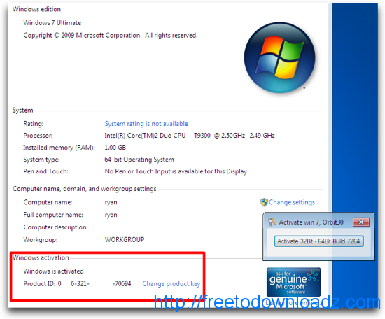 windows 7 crack activation