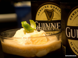 thehomefoodcook - creamy guinness ice cream float