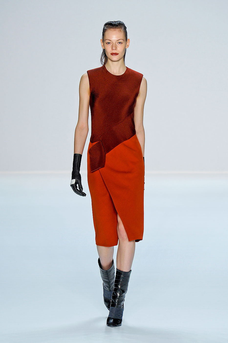 Narciso Rodriguez Fall/winter 2012 | red trend | inspiration
