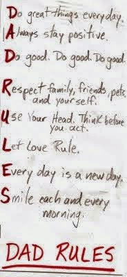 Dad's Rules