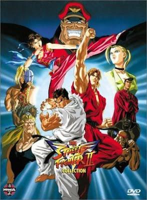 Desenho Poster  Street Fighter II Victory - Completo TVRip XviD Legendado