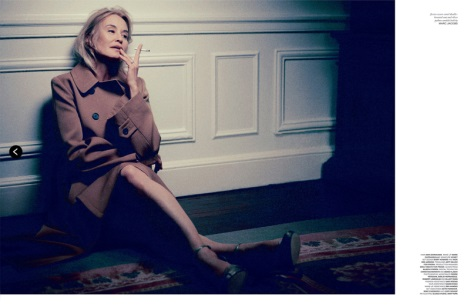 Jessica Lange by Mikael Jansson for Love magazine