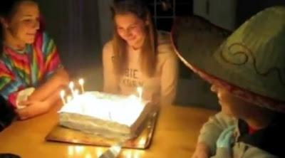 誕生日の悪戯