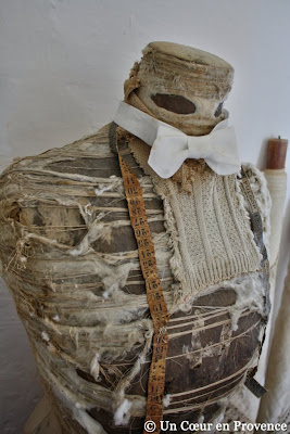 Worn old dressmaker's dummy