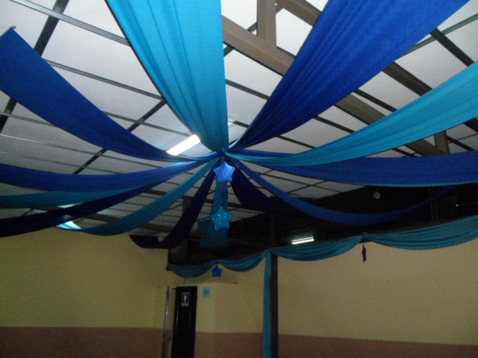 Eventos decoraciones siles decoracion con telas - Telas para paredes decoracion ...